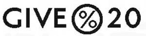 GIVE20 logo